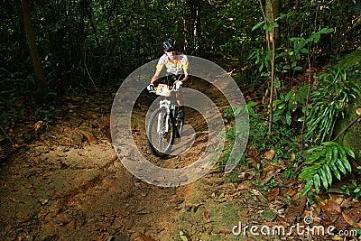 Singapore National cycling Championship 2009 Editorial Stock Photo