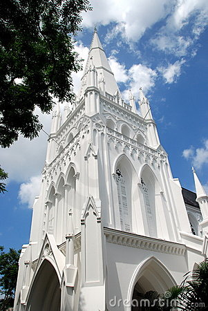 Singapore: Neo-gothic St. Andrew s Cathedral