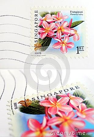 Singapore postage stamp