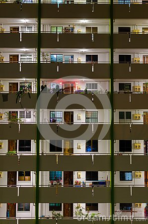Free Singapore Public Housing Estates Royalty Free Stock Photography - 106940017