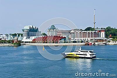Singapore seaside residential
