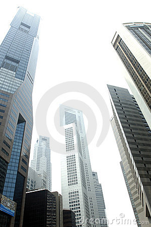 Free Singapore Skyscrapers 03 Royalty Free Stock Photos - 1872858