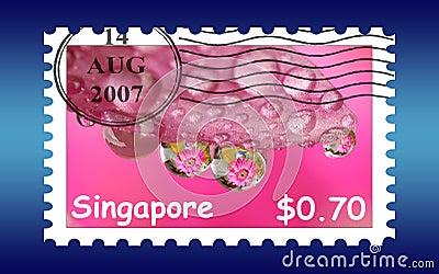 Singapore stamp postage