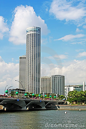 Singapore Tourism City Skyline