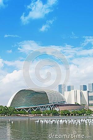 Singapore Tourism City Skyline