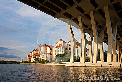 Singapore Urban Scene