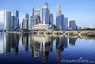 Singapore waterfront city