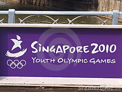 Singapore Youth Olympics 2010 Editorial Stock Image