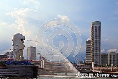 Singapour Merlion