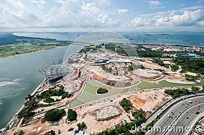 Singapur-Aufbauten