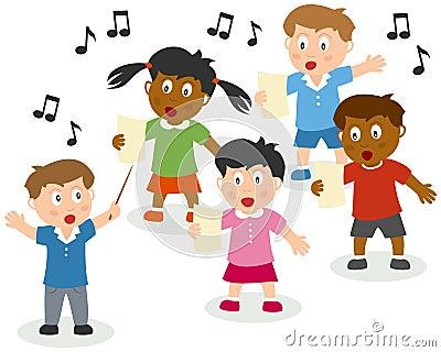 Singende Kinder