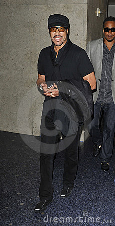 Singer Lionel Richie is seen at LAX Editorial Photo