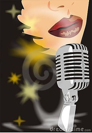 Free Singer On The Disco Royalty Free Stock Images - 3728539