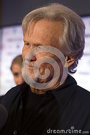 Singer Songwriter Actor Kris Kristofferson Editorial Image
