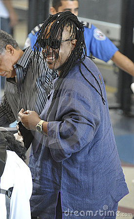 Singer Stevie Wonder is seen at LAX Editorial Photography