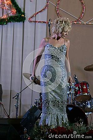 Singer Valeria Editorial Stock Image