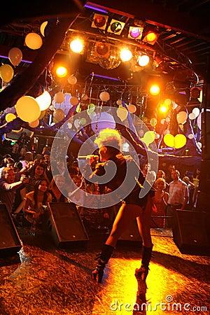 Singer Ysa Ferrer. Muz-TV Awards Editorial Photo