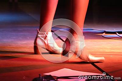 Singers feet