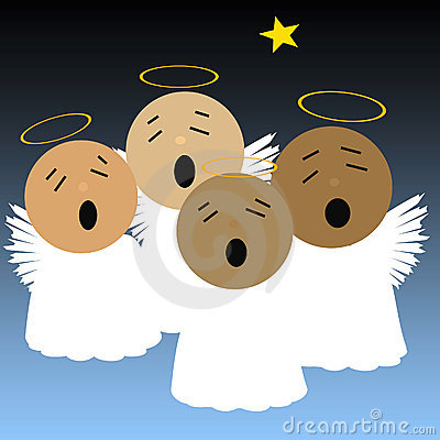 Singing Angels Royalty Free Stock Photos - Image: 16919228