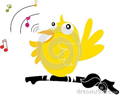 Singing bird