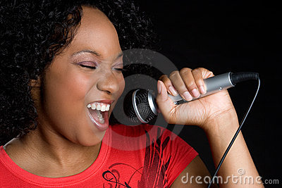 Singing Black Woman