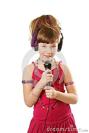 Free Singing Girl Stock Images - 14789064