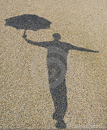 Free Singing In The Rain Royalty Free Stock Photos - 8730118