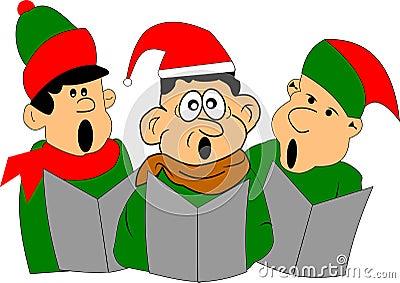 Singing men