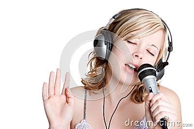 Singing Music Girl
