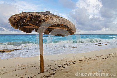 Single Beach Palapa