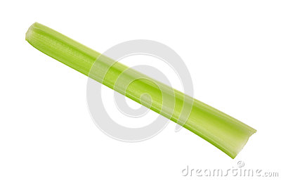 Single celery stalk