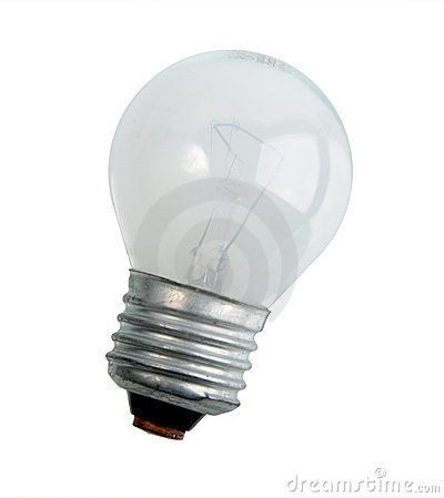 Single compact lighting lamp.
