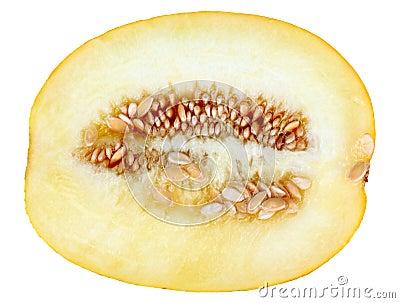 Single cross ripe yellow melon