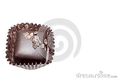 Single Dark Square Chocolate Truffles