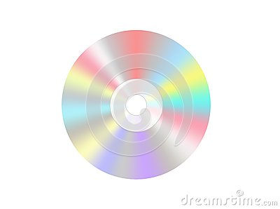 Single disc cd dvd isolated