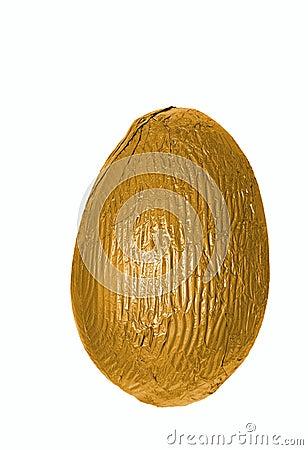 Single golden easter egg