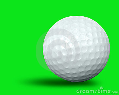 Single golf ball