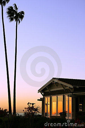 Free Single Isolated Luxury Coastal Apartment Royalty Free Stock Photo - 1618245