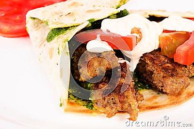 Single kebab