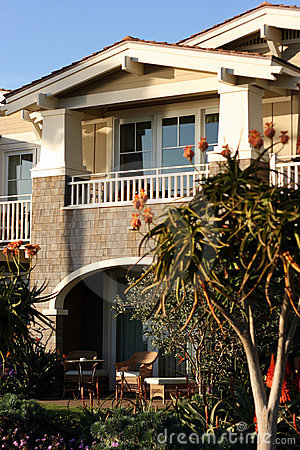 Free Single Luxury Coastal Apartment Stock Photography - 1618192
