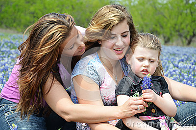 Single Mom with Daughters