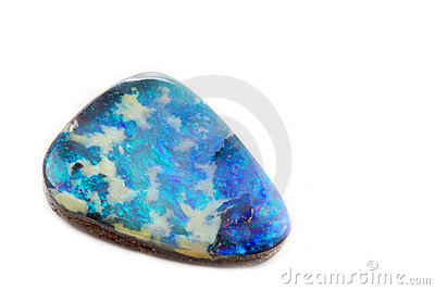 Single opal jewel
