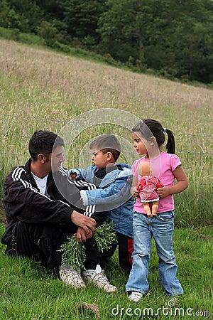 Free Single Parent Pleasure Stock Images - 1141884