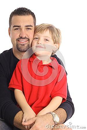 Single parent with son