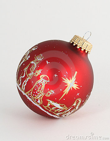 Single Red Ornament