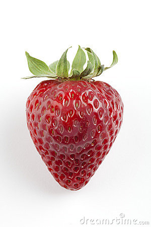 Free Single Red Strawberry Royalty Free Stock Image - 16088226