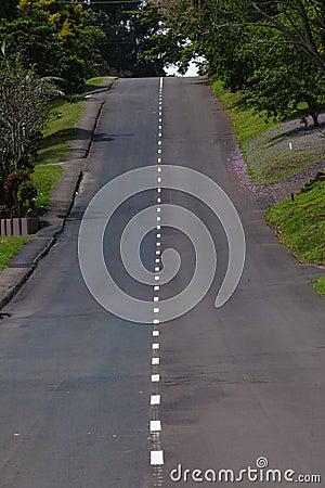 Single Road Hill Green