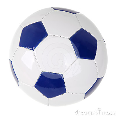 Single soccer ball