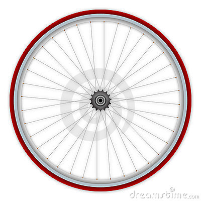 Single speed bicycle wheel