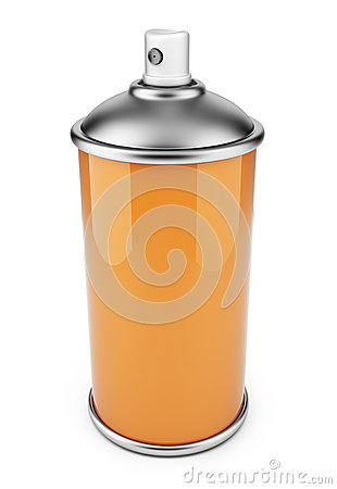 Single spray can. 3D icon